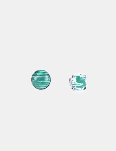 Conjunto 2 anillos verdes NoName