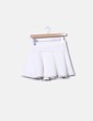 Mini falda evasé blanco NoName