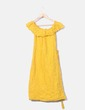 Vestido guipur amarillo Kiabi