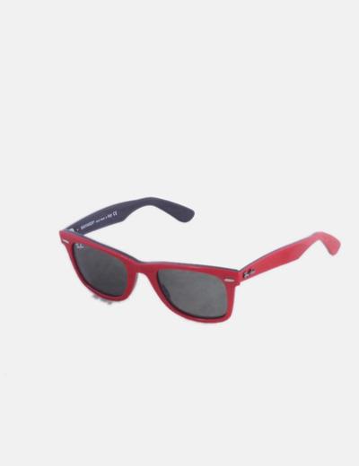 Gafas de sol Ray Ban wayfarer rojas 2140