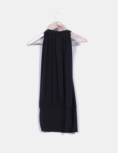 Blusa negra de licra