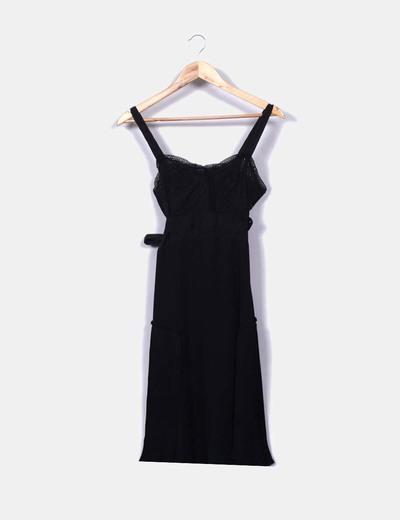 Comptoir des cotonniers robe noire r duction 83 micolet - Reduction comptoir des cotonniers ...