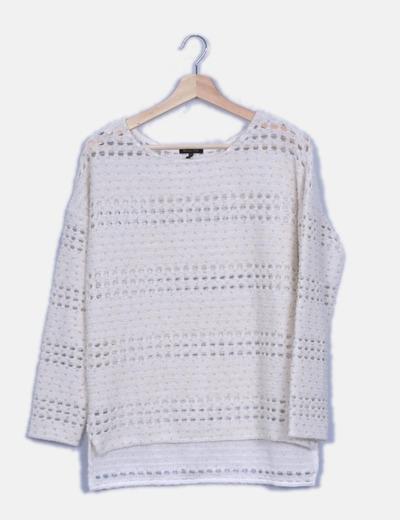 Jersey tricot calado