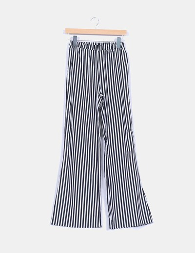Pantalon deux couleurs rayé Subdued