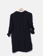 Black shirt dress with studs Shana