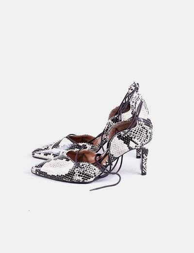 Chaussure lacet de imprimé animal R edition