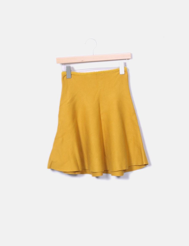 amarilla tricot baratas vuelo Faldas Zara Falda online con Bgpqwd5H ... c8b3d7703673