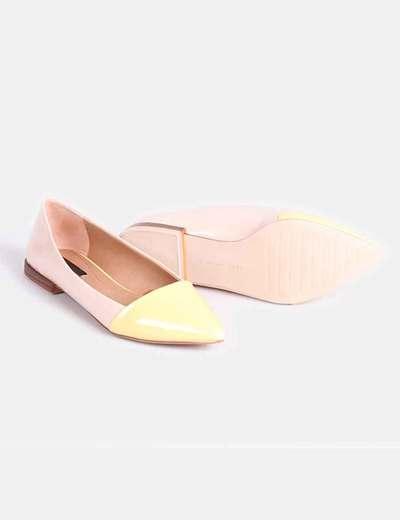 Zara Descuento Micolet Beige 58 Amarillo Charol Y Gqbbtp Planos Zapatos c5ARqS3Lj4