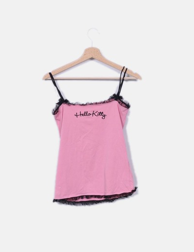 Oysho Camisa de lingerie rosa (desconto de 80%) - Micolet b64d1fc6d80