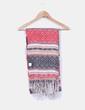 Maxi bufanda estampado tribal de lana Springfield