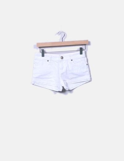 Pantalón corto blanco Inside