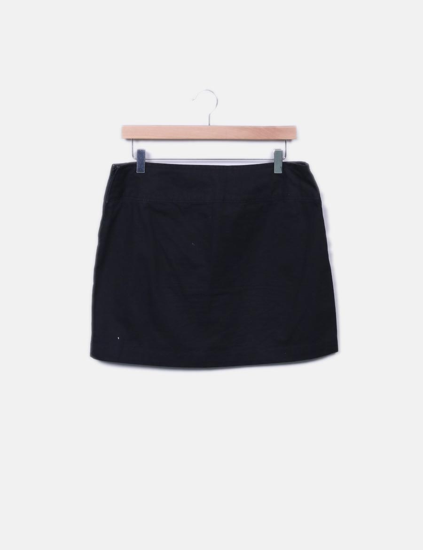 baratas Benetton negra Minifalda denim online Faldas qH1a8 - teeming ... bbcf3b230aa0