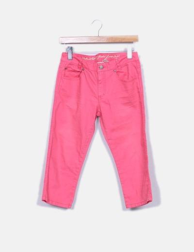 Jeans denim pirata fucsia H&M