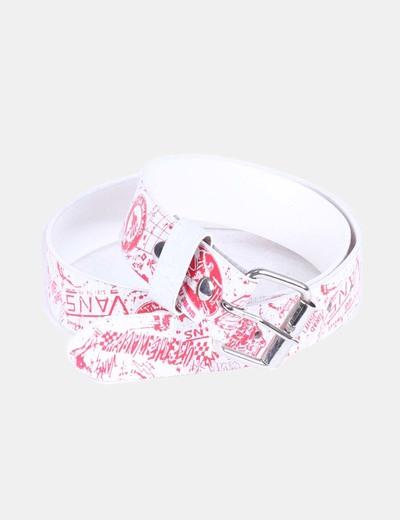 cinturon vans blanco
