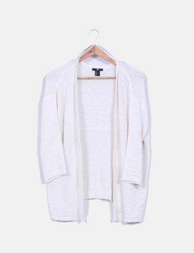 Cárdigan/Blazer punto blanco H&M