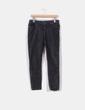Pantalón pitillo pana gris marengo  Zara