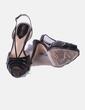 Sandales marron en cuir verni Bimba&Lola