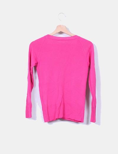 Chaqueta de seda rosa