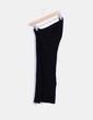 Vestido tricot negro entallado Zara