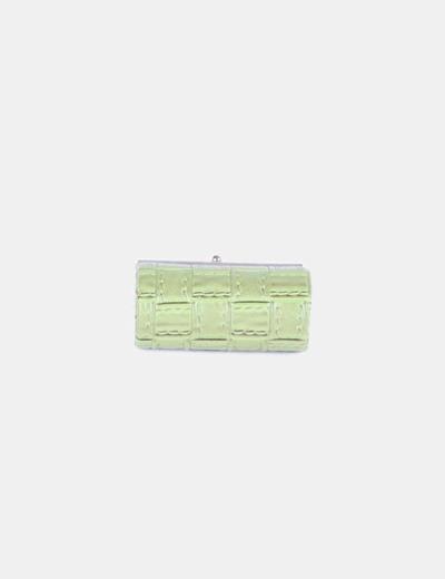 Monedero verde texturizado NoName