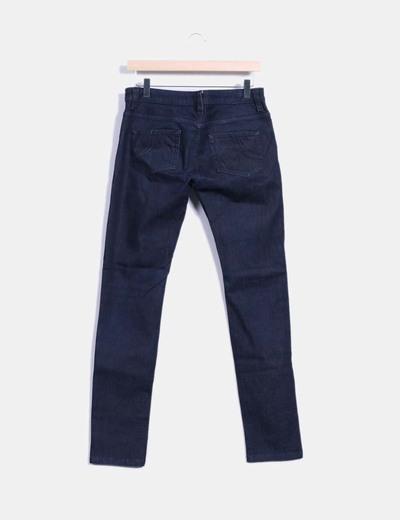 Pantalon vaquero azul marino