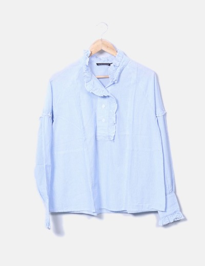 Camisa rayas azules Antik Batik