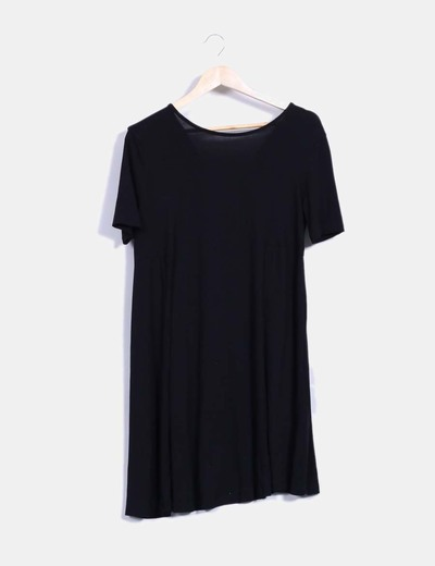 Vestido mini negro basico  Asos