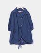 Gabardine bleu avec motif boutons Hoss Intropia