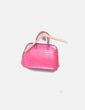 Bolso texturizado rosa Zara