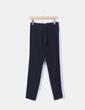Pantalón sarga negro pitillo Zara