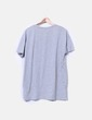 Camiseta gris con bolsillo Shana