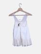 Blusa blanca combinada Zara