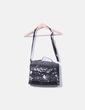Transparent bag with animal print NoName