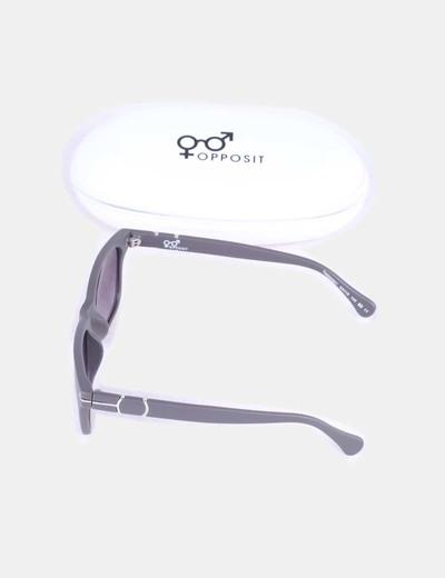 Gafas de sol montura gris