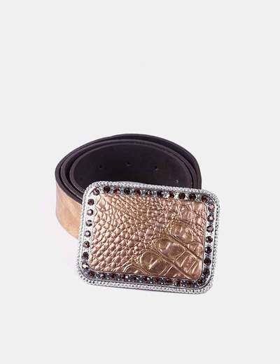 Cinturón dorado NoName