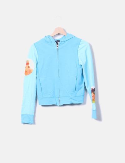 Custo Barcelona Fato de algodão azul (desconto de 76%) - Micolet fac596004a10b