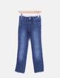 Jeans denim pitillo desflecado Pull&Bear