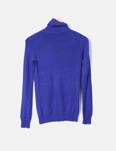 Jersey tricot azul klein