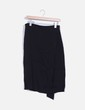 Falda midi negra básica Zara