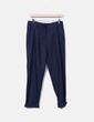 Pantalons bleu marine tobillero Mango