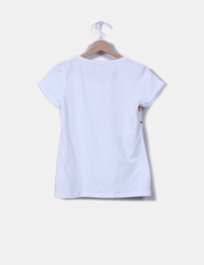 Camiseta print manga corta