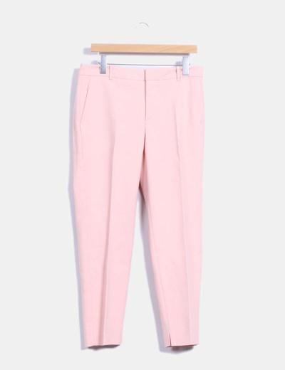 2375a8a5 Zara Pantalón rosa palo de vestir (descuento 70 %) - Micolet