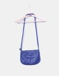 Bandolera polipiel  azul marino Stradivarius