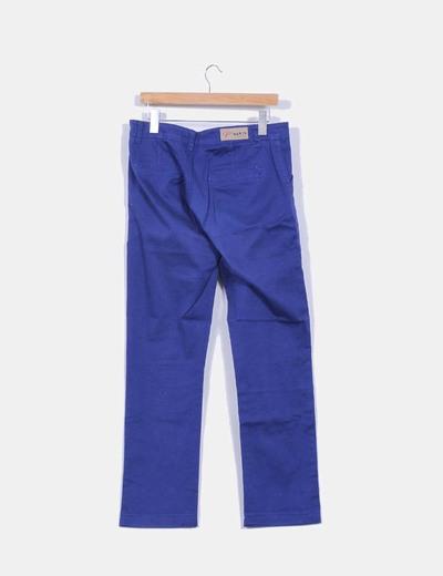Pantalon vaquero azul klein