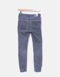 Pantalón pitillo gris Pull&Bear
