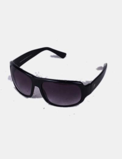 9116fbb0f5 Purificación García Gafas de sol negras cristal oscuro (descuento 78 ...
