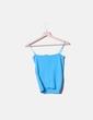 Top tricot azul de tirantes Pedro del Hierro