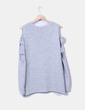 Pull gris chunky en tricot Primark