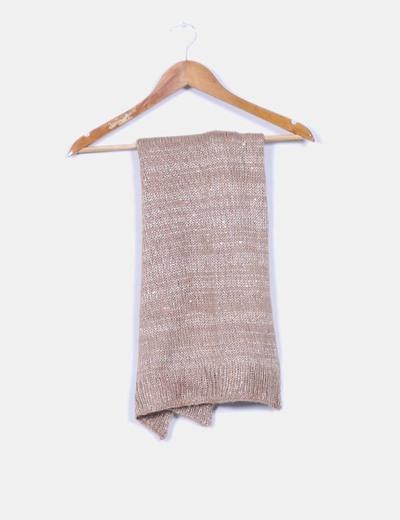 Bufanda tricot paillettes El Corte Inglés