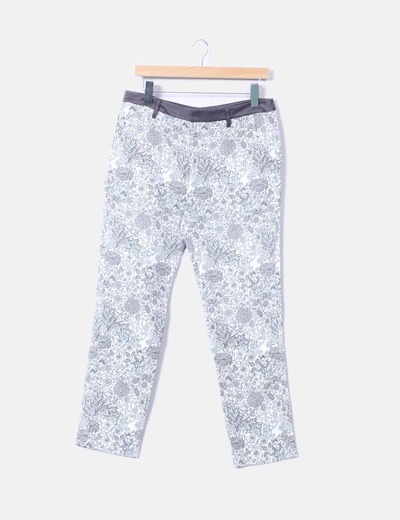 Pantalón chino estampado indi & cold